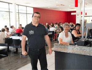 Restaurant l'Instant Gerland (Pascal Angiblert, responsable du restaurant)