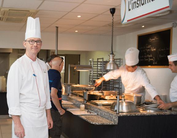 Le Restaurant l'Instant Gerland encouragé par ses clientd